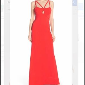 BCBG Kelbie Double-Strap Gown W/ Tag